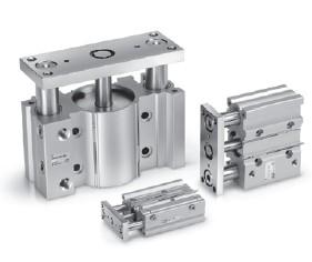 气缸-MGP系列 薄型带导杆气缸