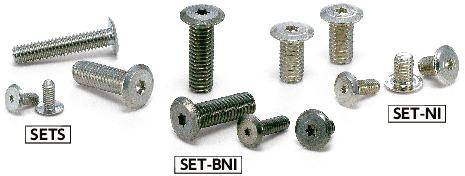 梅花槽超级短头螺栓SET-BNI