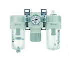 空气组合组件-新款过滤减压阀+油雾器  模块式F.R.L.空气组合元件
