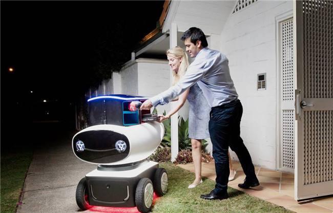 机器人送外卖你怎么看?