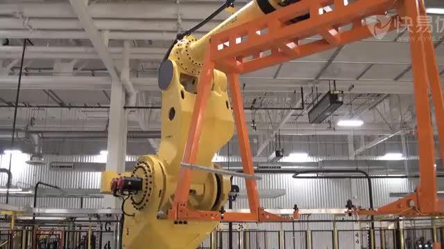 (機器人材料加工)8.汽車車身整體搬運及焊接;