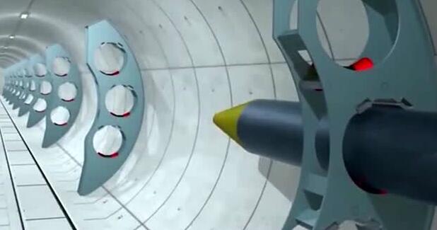 隧道中的管道是怎样插入的,3D演示告诉你